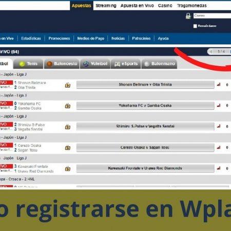 Cómo registrarse en Wplay
