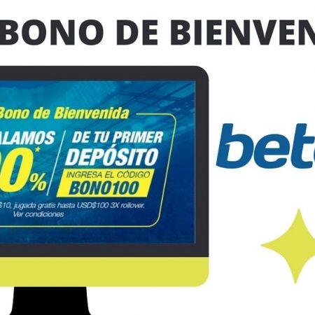 Bono de bienvenida Betcris Ecuador