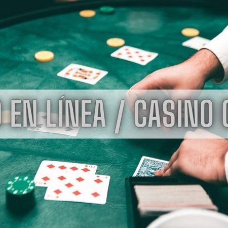 Diferencia entre casino online y en vivo.