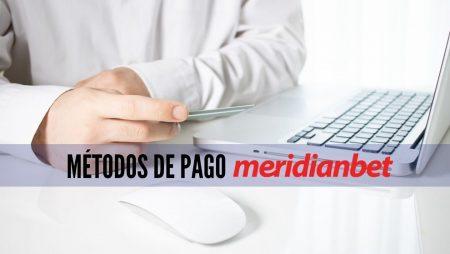 Métodos de pago Meridianbet