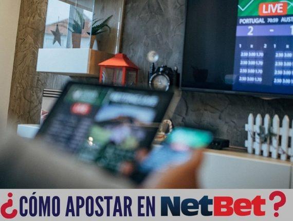 Cómo apostar en NetBet México